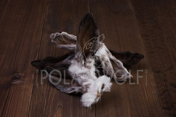 Уши кролика в шерсти